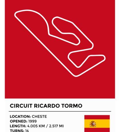 Circuit Ricardo Tormo - v2 Sticker