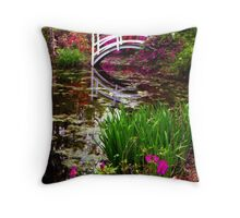 Magnolia Bridge No. 1, Charleston, SC Throw Pillow