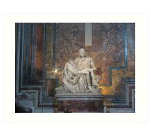 La Pieta Art Print