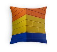 Box Hill - Beaurepaire bricks Throw Pillow