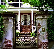 Church Street Gate & Porch by Benjamin Padgett
