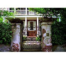 Church Street Gate & Porch Photographic Print