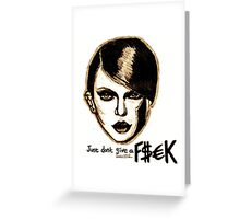Just Don't Give a F$ck Greeting Card