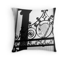Hibernian Iron & Columns No. 1 Throw Pillow