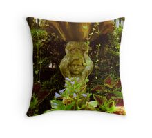 Meeting Street Garden, Charleston, SC Throw Pillow