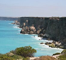 Great Australian Bight by Mike  Parrant