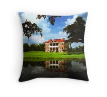 Drayton Hall, Charleston, SC Throw Pillow
