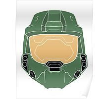 Stencilled Master Chief Poster