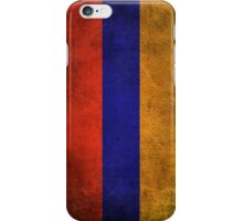 Old and Worn Distressed Vintage Flag of Armenia iPhone Case/Skin