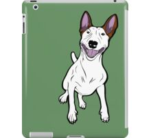 Excited Bull Terrier  iPad Case/Skin