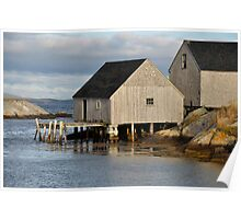 Peggy's Cove - Nova Scotia Poster