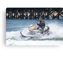 Jet Ski Fun- Boy's Toys Canvas Print