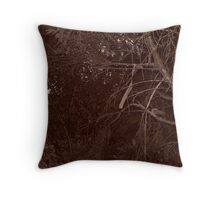 Tie a ribbon. Throw Pillow