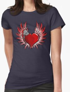 Flights of fancy Womens Fitted T-Shirt