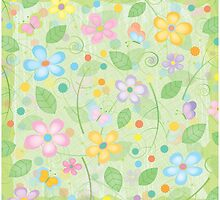 Spring Blossoms by GraphicTabby
