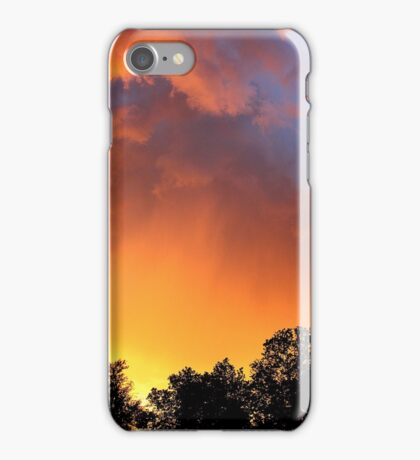 """Kansas Sunset""  iPhone Case/Skin"