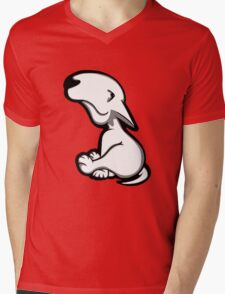 English Bull Terrier All Innocent  Mens V-Neck T-Shirt