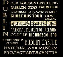 Dublin Ireland Famous Landmarks by Patricia Lintner