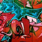 Graffiti - St Kilda by Aaron Maguire