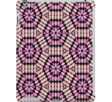 Pink and Black Floral Graphic - 2 of 2 (see description) iPad Case/Skin