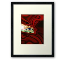 Color Our World with Beauty Framed Print