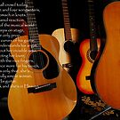 First Pluck-Guitars  by Wayne Cook