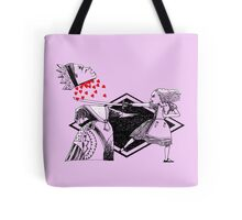 Alice vs. The Red Queen Tote Bag