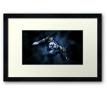 League of Legends - Zed - The Master of Shadows Framed Print