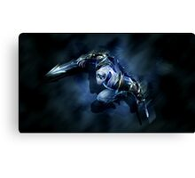 Zed - The Master of Shadows Canvas Print