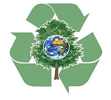 recycle earthday by redboy