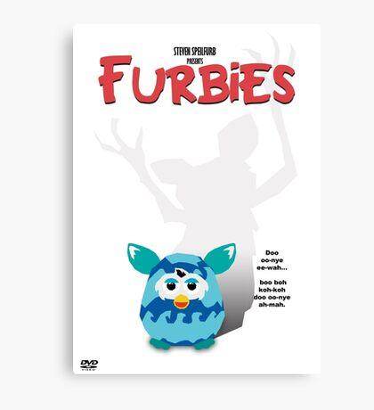 Furbies DVD Cover - Gremlins Parody Canvas Print