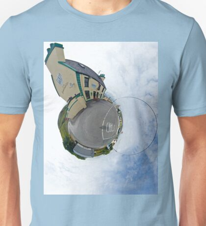 Biddy's House - the Crossroads Pub, Glencolmcille(Sky Out) Unisex T-Shirt