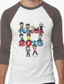 Vidcon 2015 Men's Baseball ¾ T-Shirt