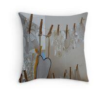 Pegged - Avalon Collectables Throw Pillow