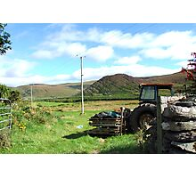 Rusted Tractor - Kerry, Ireland Photographic Print
