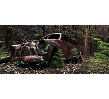 Burn Out Photographic Print