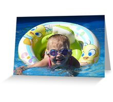 Goggles are cool Greeting Card