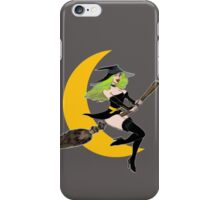 Green Witch's Moon iPhone Case/Skin