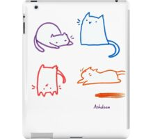 Silly Cats iPad Case/Skin
