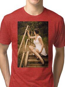 Wasteland Wanderer 2 Tri-blend T-Shirt