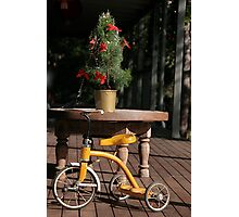 Tricycle Photographic Print