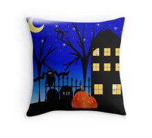 Samhain Night of the Celts Celebration Throw Pillow