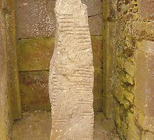 Ogham stone by KaliBlack