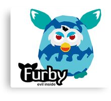 Furby - Evil Inside Canvas Print
