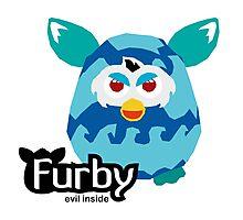 Furby - Evil Inside Photographic Print