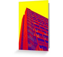 Parkhill popart (part 1 of 6) Greeting Card