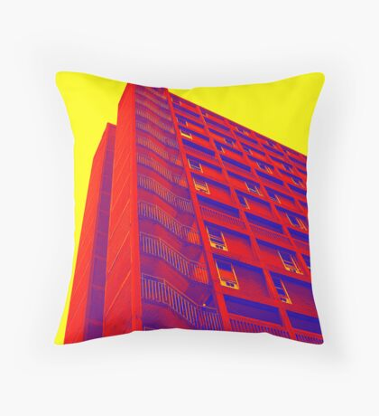 Parkhill popart (part 1 of 6) Throw Pillow
