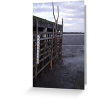 Tide Out III Greeting Card