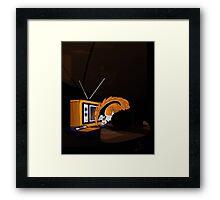 Retro Anteater Framed Print