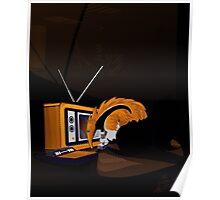 Retro Anteater Poster
